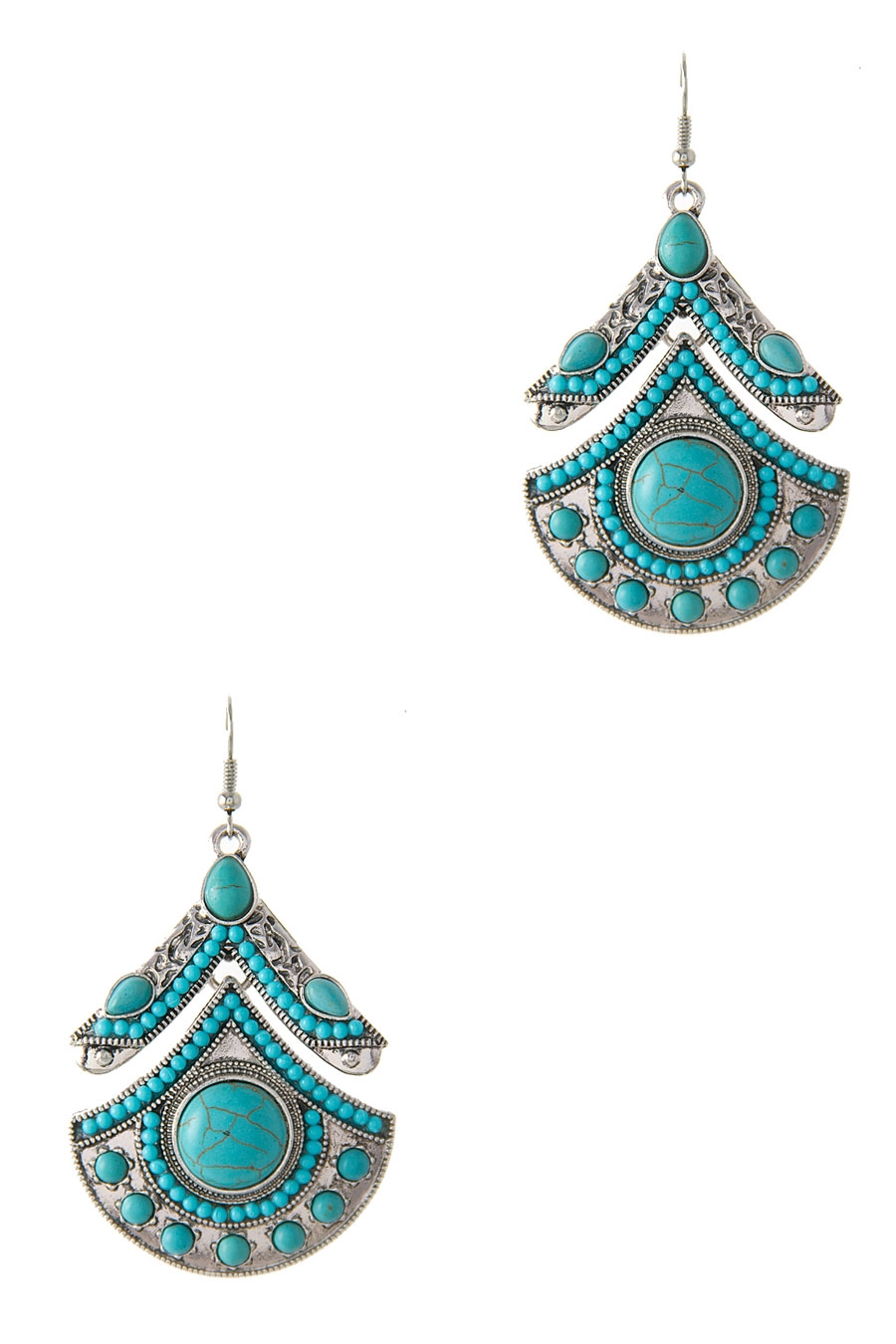 BOHO FAN EARRING - orangeshine.com
