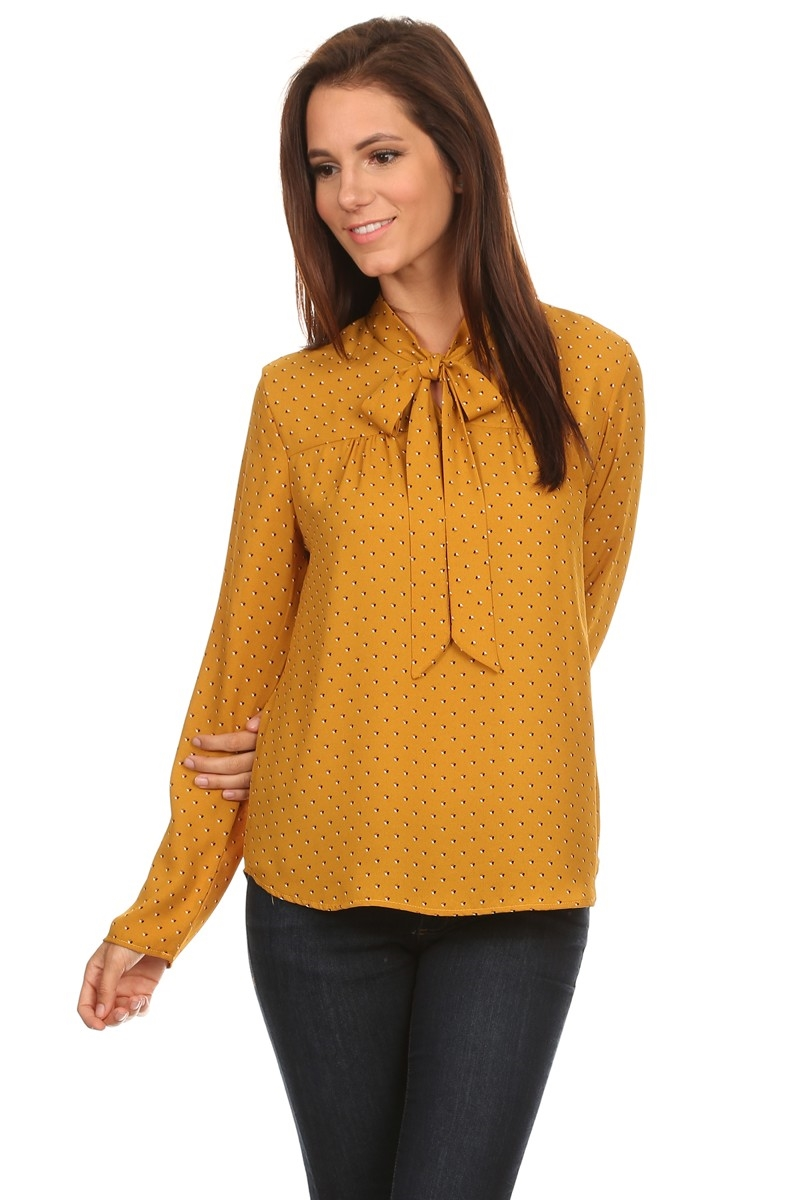 RIBBON BLOUSE - orangeshine.com