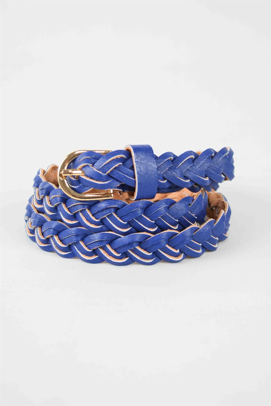 Braided Skinny Belt - orangeshine.com