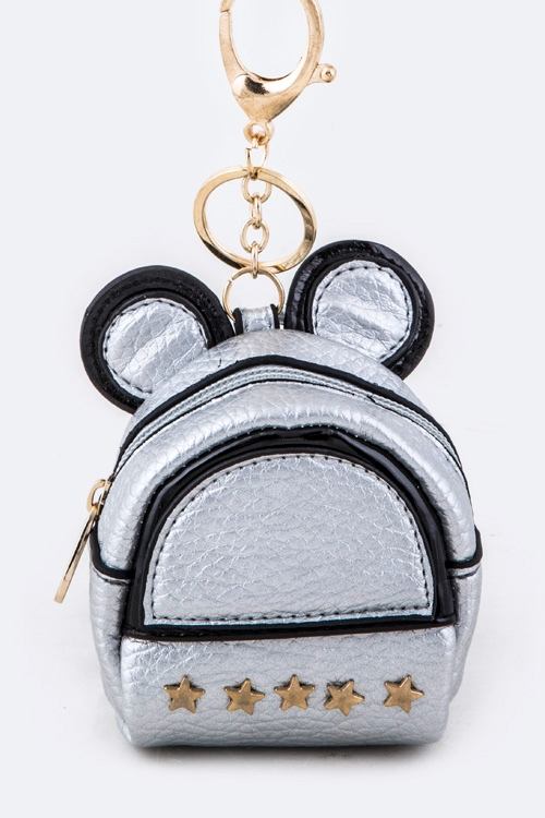 Star Mouse Backpack Key Charm - orangeshine.com