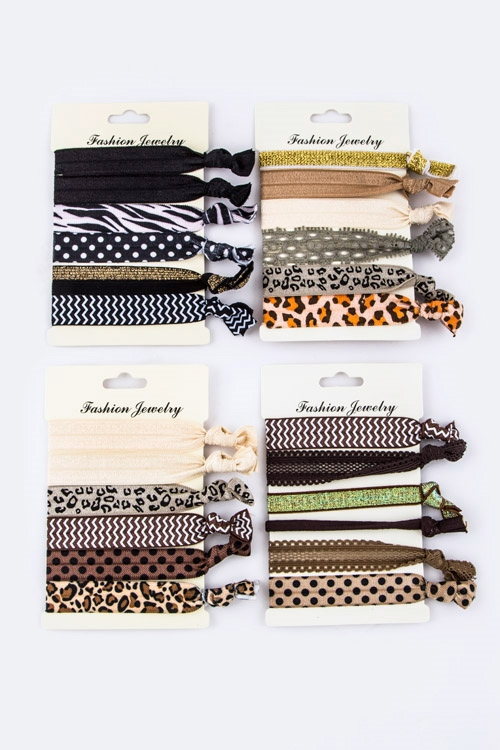 Assorted Animal Print Head Tie - orangeshine.com
