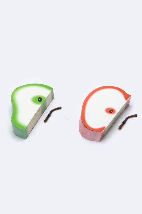 3D Apple  Pear Funny Note Pad - orangeshine.com