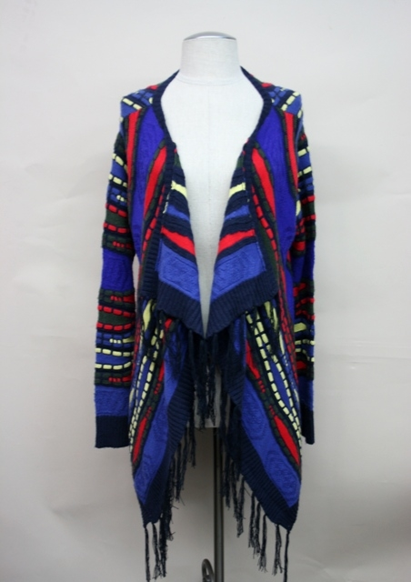Multi color cardigan - orangeshine.com