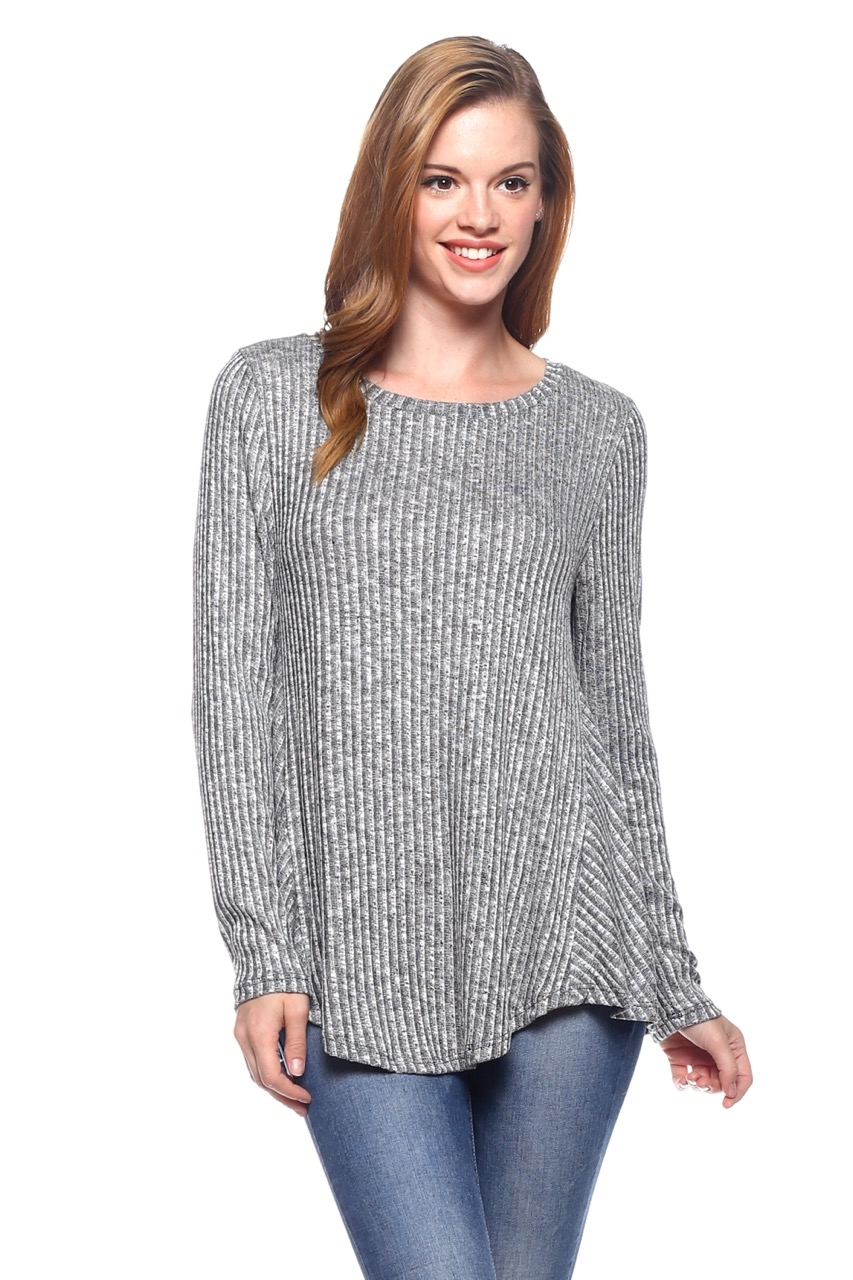 Knit Sweater Long Sleeve - orangeshine.com