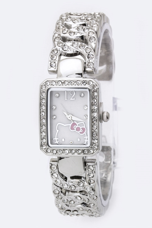Hello Kitty Bangle Watch - orangeshine.com