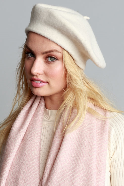 PARISIAN CHIC WOOL BERET - orangeshine.com