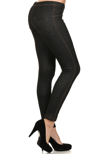 Womens FUR Jeggings Leggings  - orangeshine.com