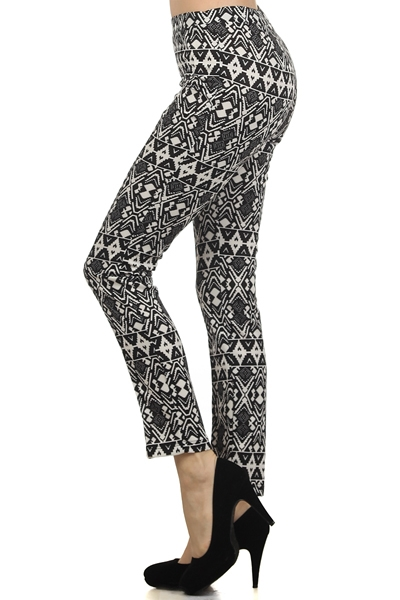 Patter Print pants - orangeshine.com