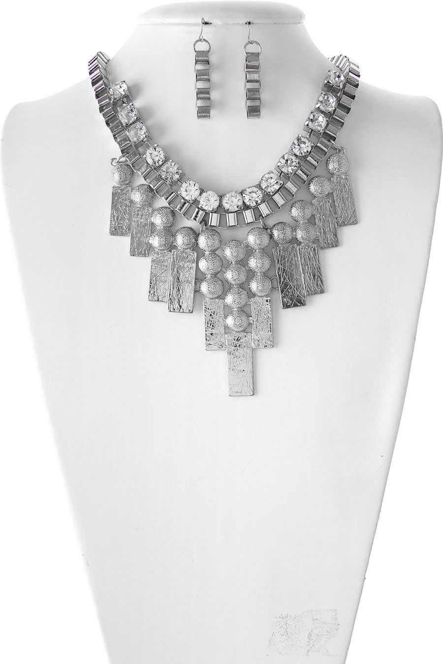 CHAIN BIB NECKLACE - orangeshine.com