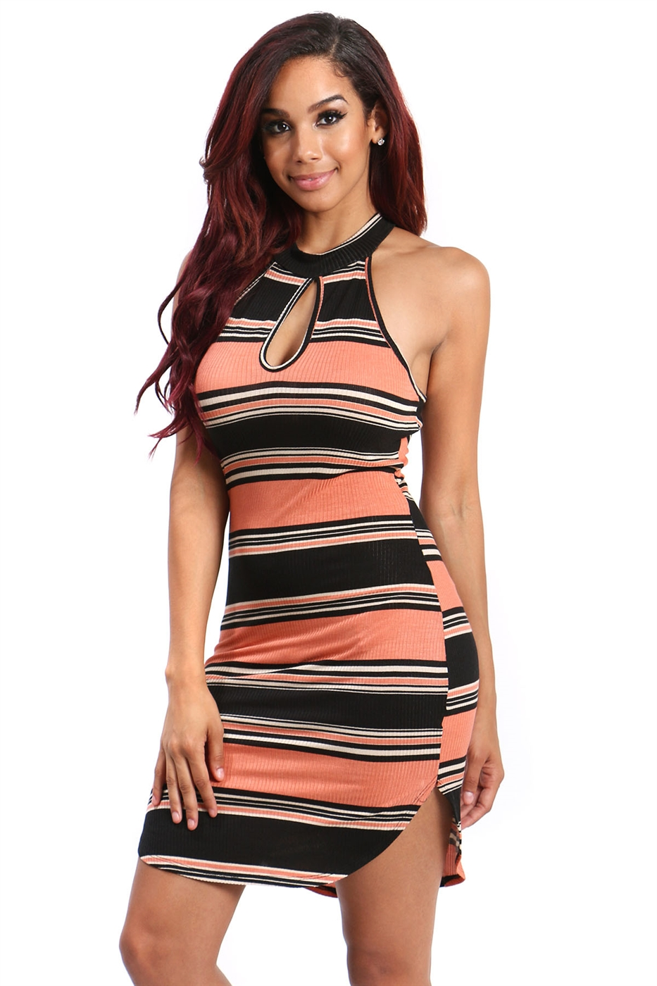 bodycon kint dress - orangeshine.com