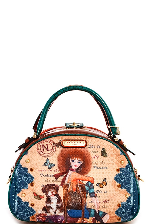 Nicole Lee Nikita Bowler Bag - orangeshine.com