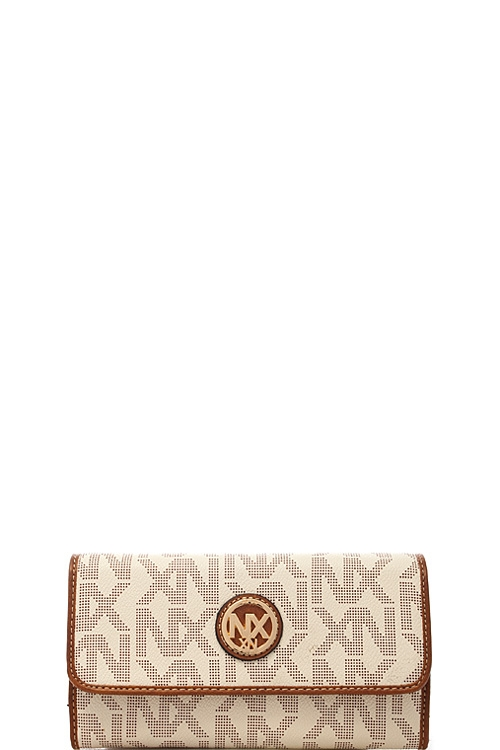 Fashion Logo Folding Wallet - orangeshine.com