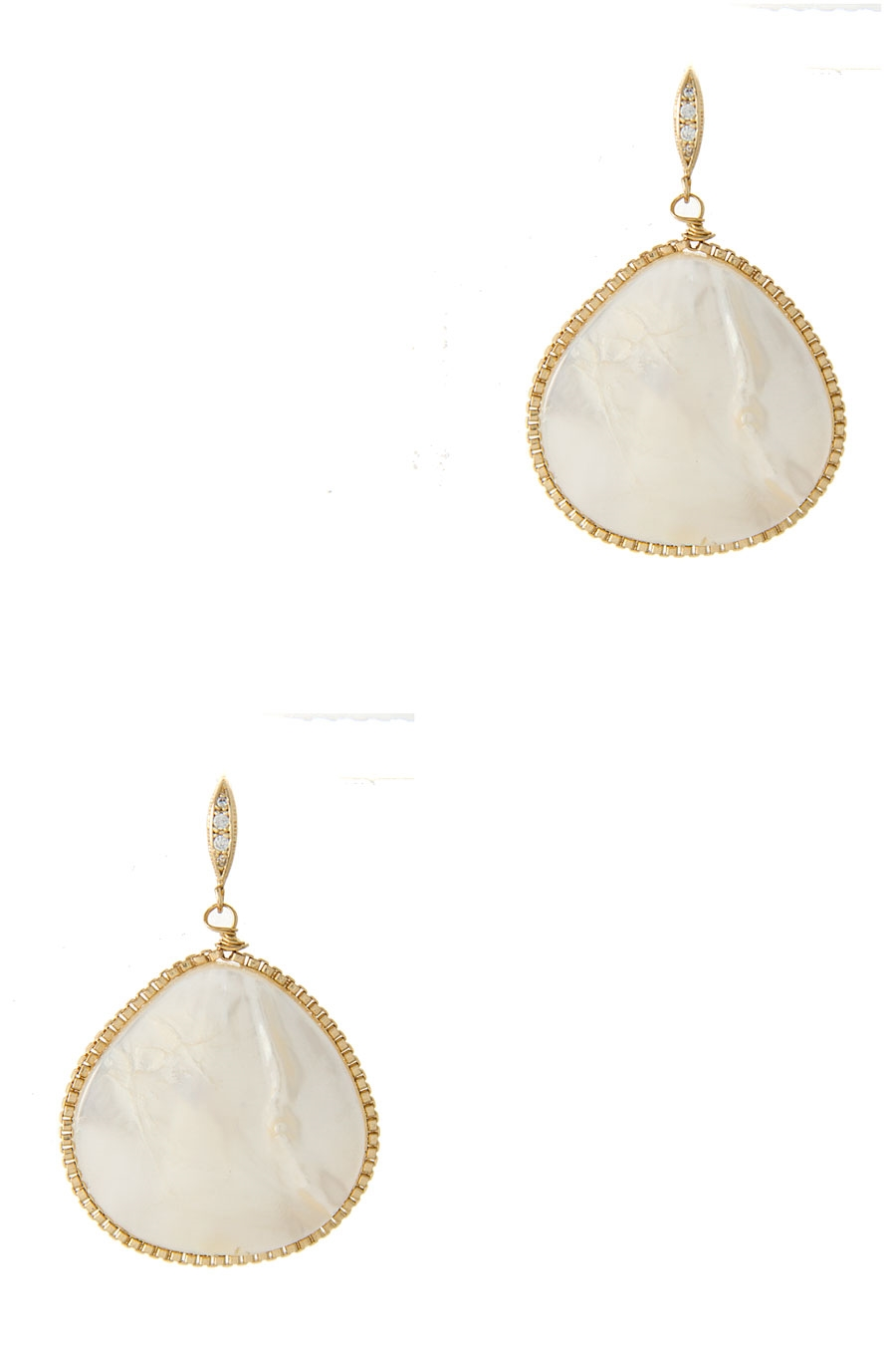 TEARDROP HOOK EARRING - orangeshine.com