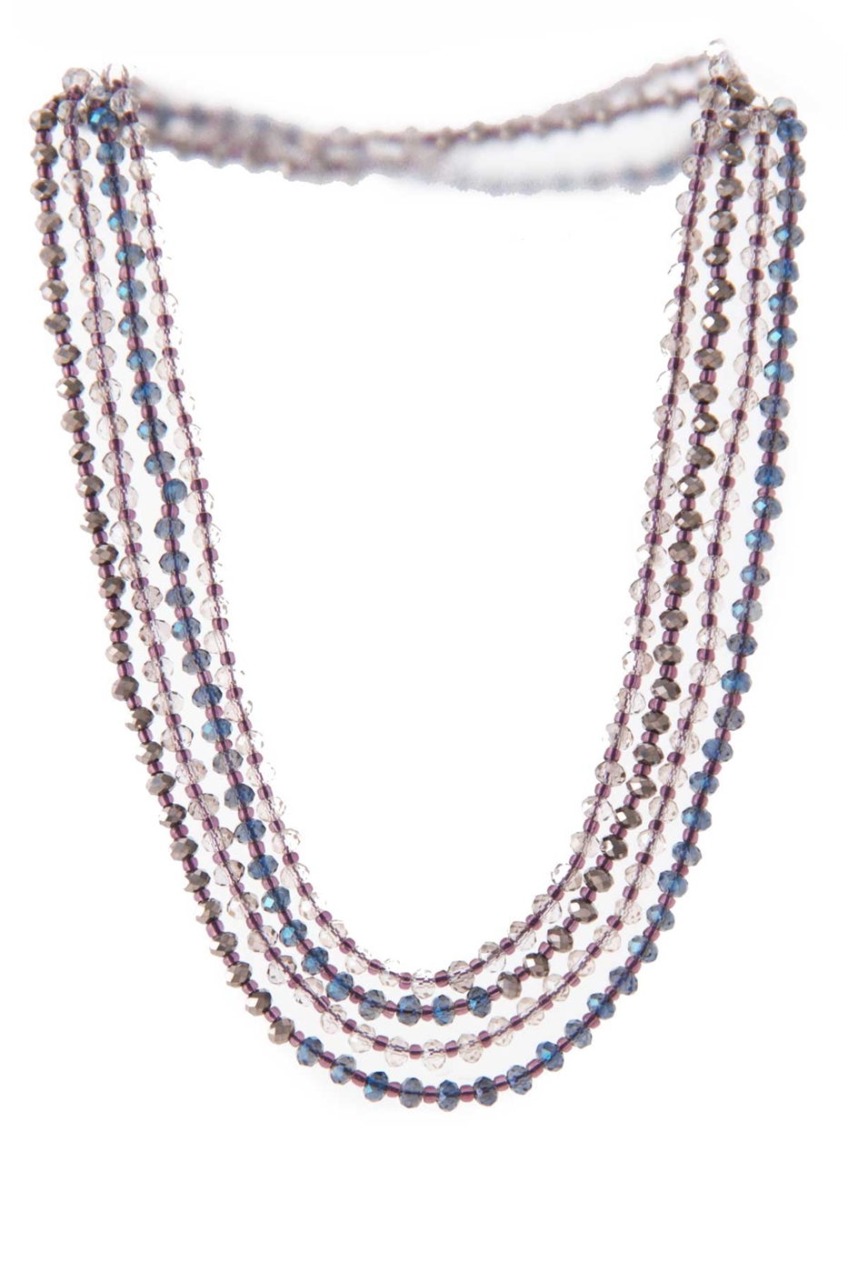 BEADED DAINTY LONG NECKLACE - orangeshine.com