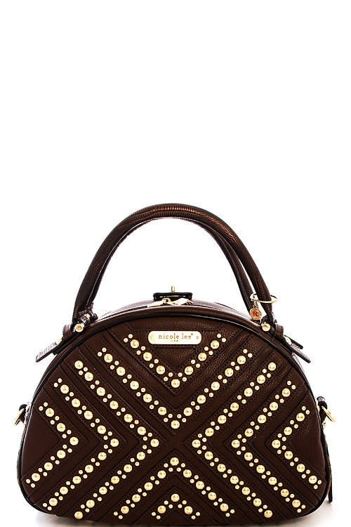Nicole Lee Beckett Bowler Bag - orangeshine.com