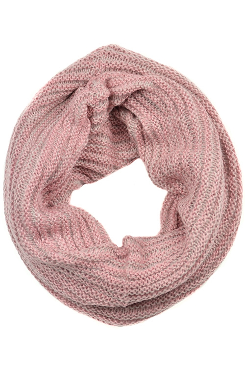 Knitted Infinity Neck Warmer - orangeshine.com