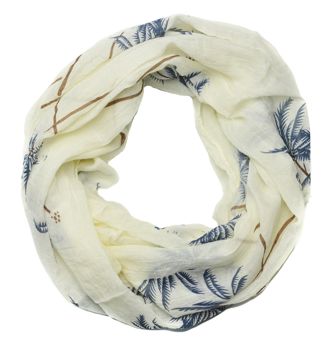 PALM TREE INFINITY SCARF - orangeshine.com
