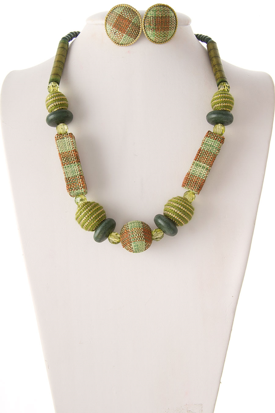 FASHION WOOD BEADS NECKLACE - orangeshine.com