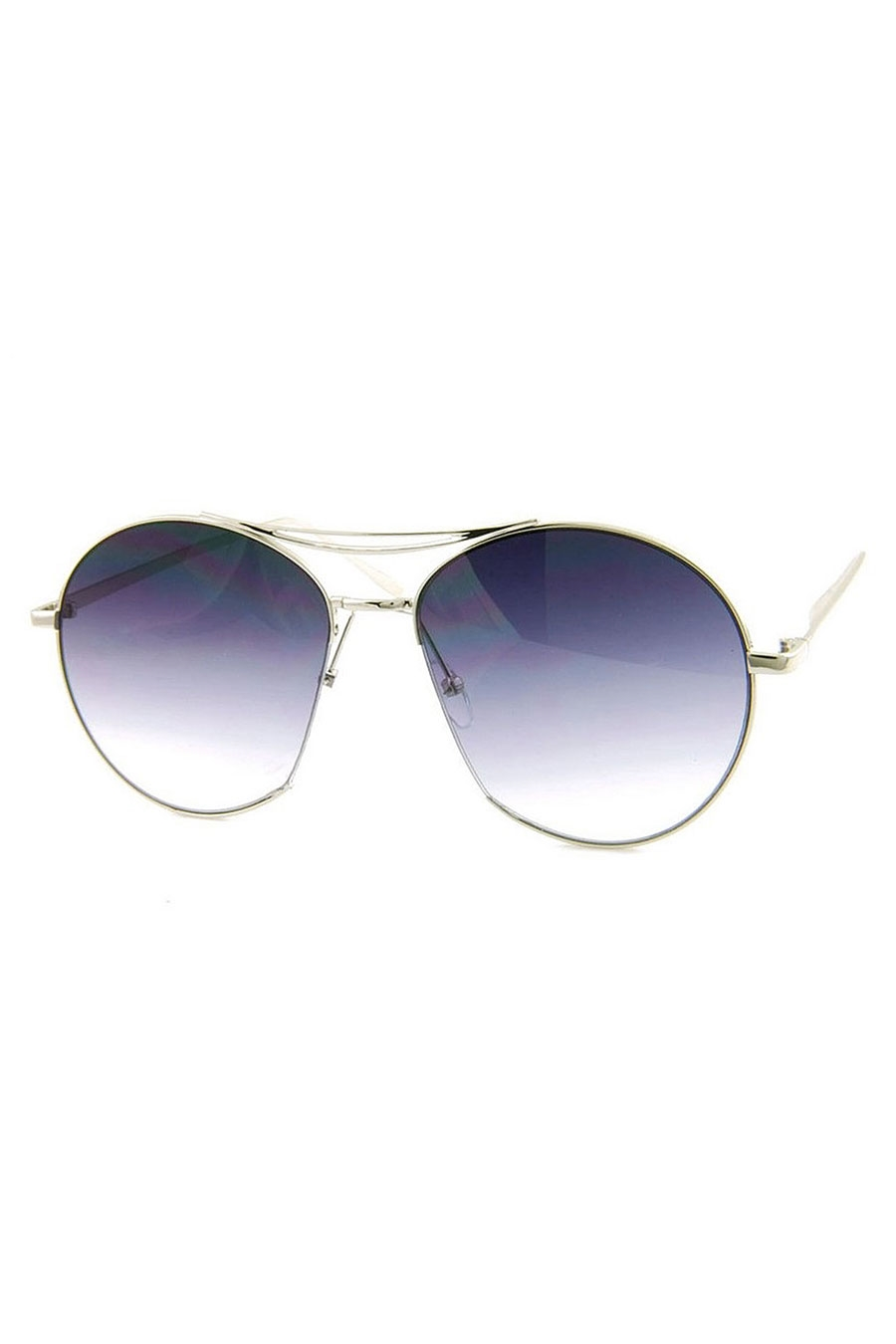 FLAT LENS METAL SUNGLASSES - orangeshine.com