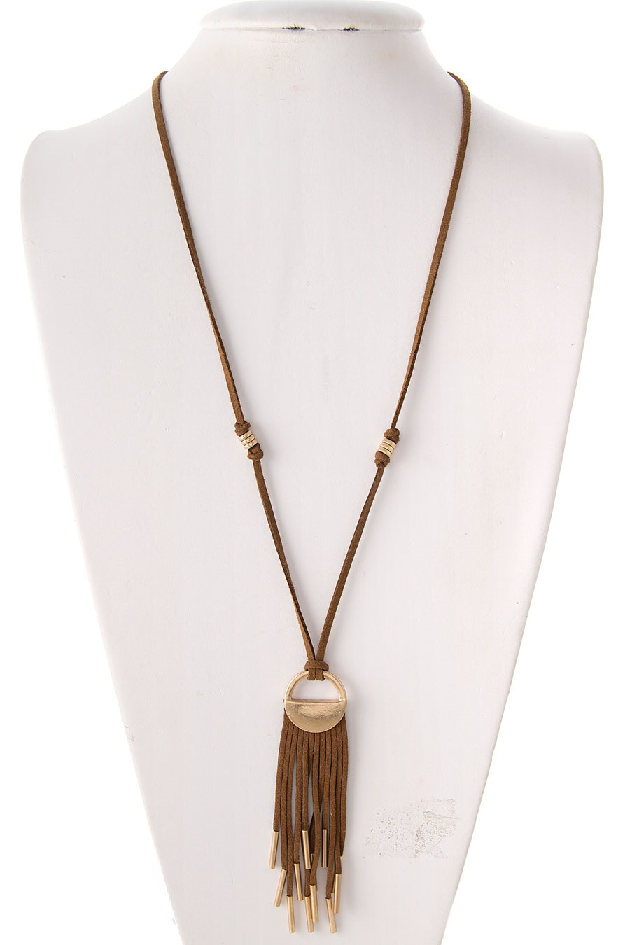 SUEDE TASSEL NECKLACE - orangeshine.com