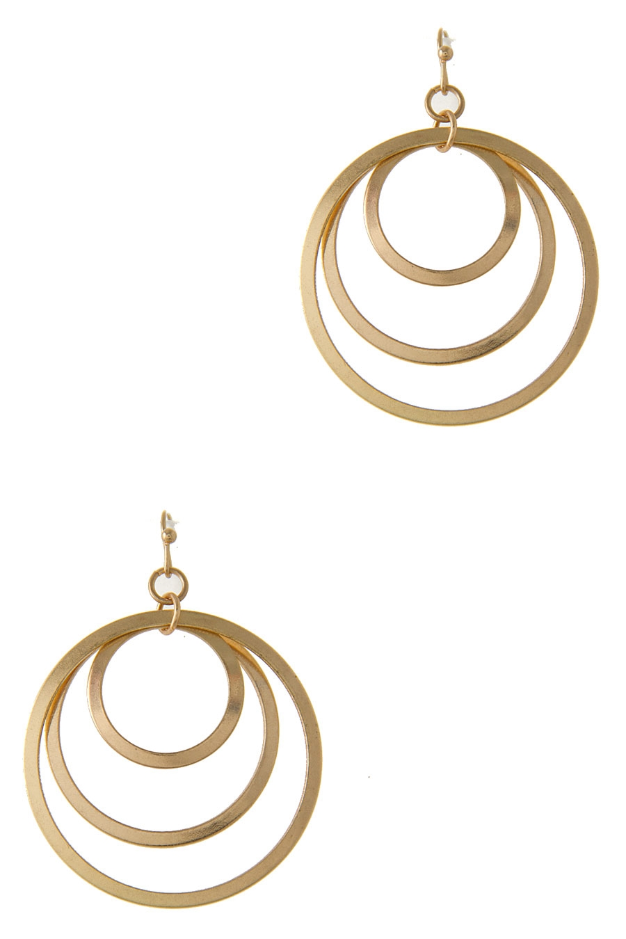 CIRCLE LINK HOOK EARRING - orangeshine.com