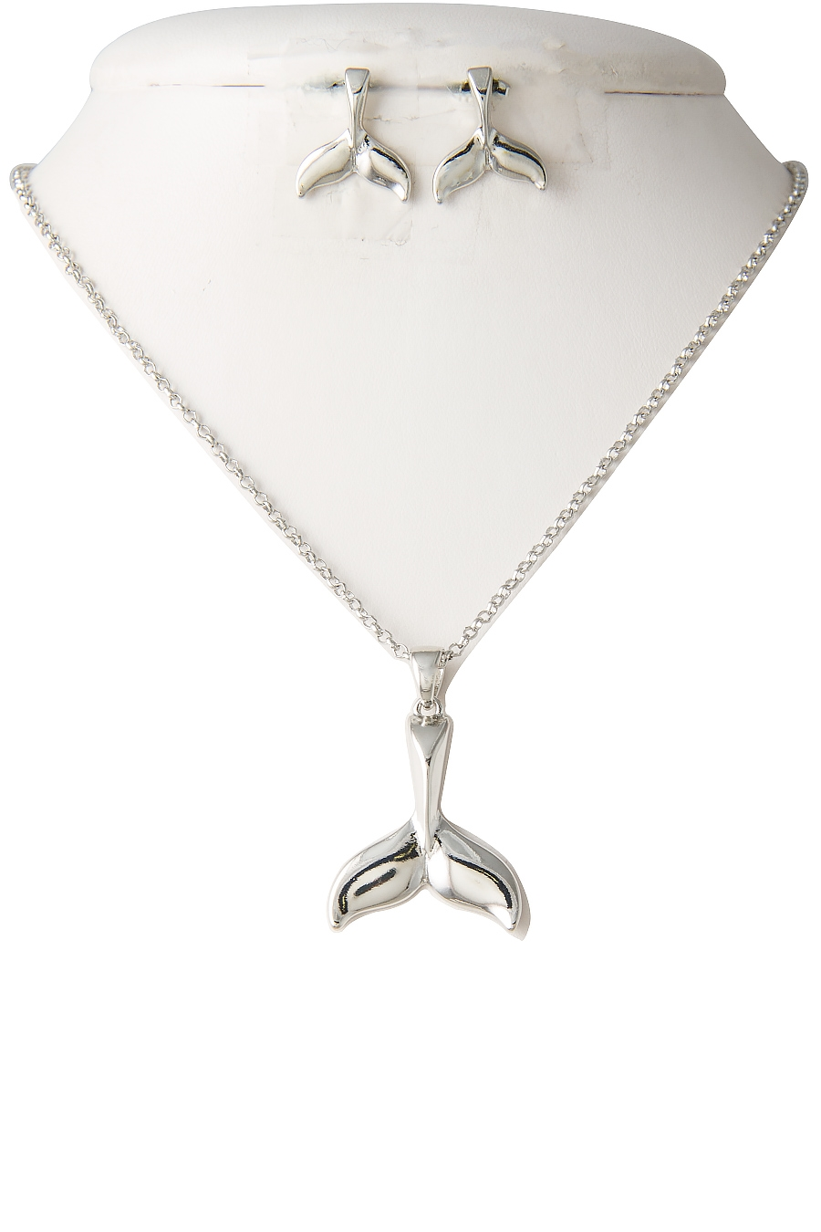 WHALE TAIL PENDANT NECKLACE - orangeshine.com