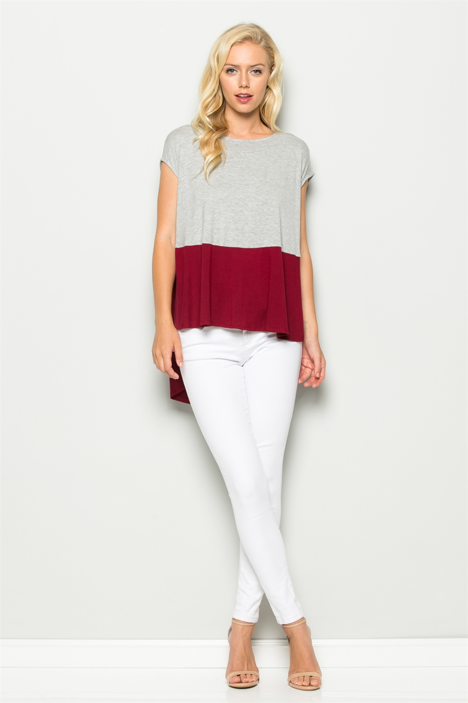 COLOR BLOCK TOP - orangeshine.com
