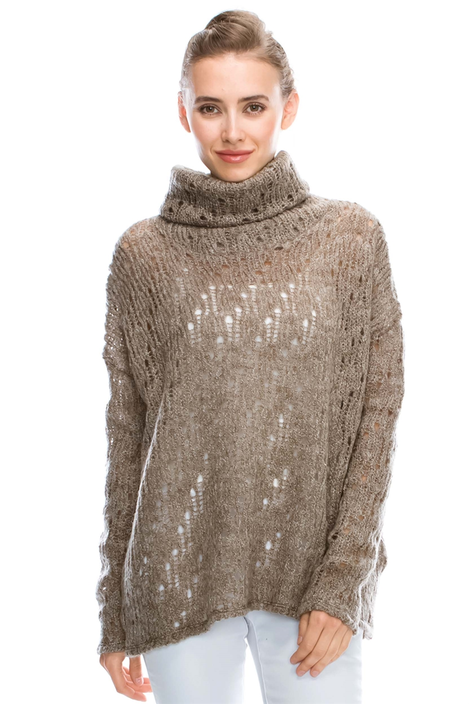 TURTLENECK SWEATER - orangeshine.com