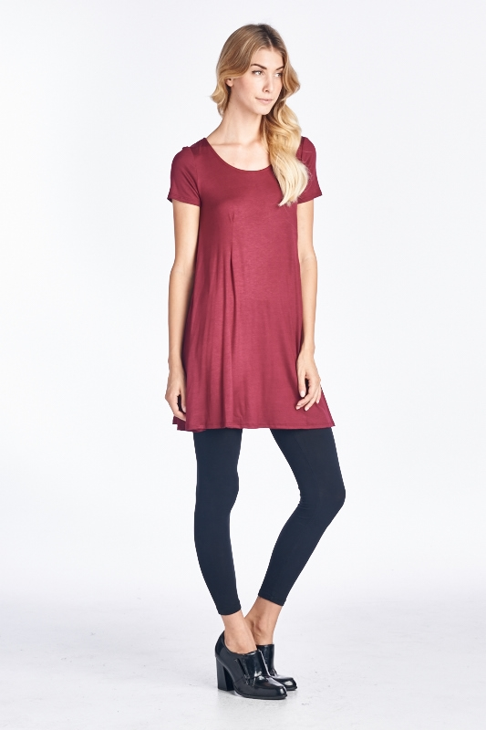 SHORT SLEEVE TUNIC - orangeshine.com