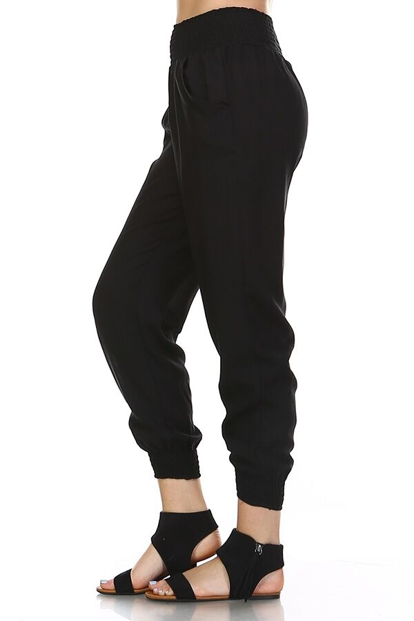 Tranquility Pants - Black - orangeshine.com