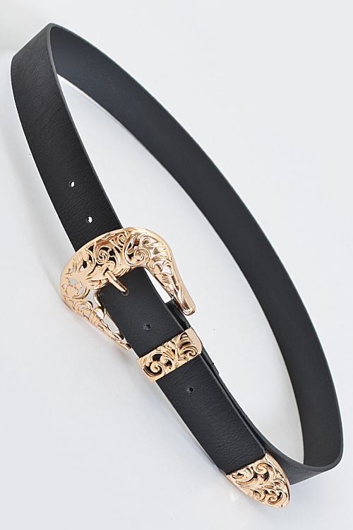 Simple Vintage Belt - orangeshine.com