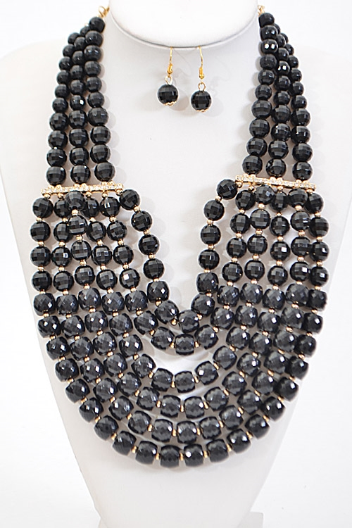 Thick Statement Necklace - orangeshine.com
