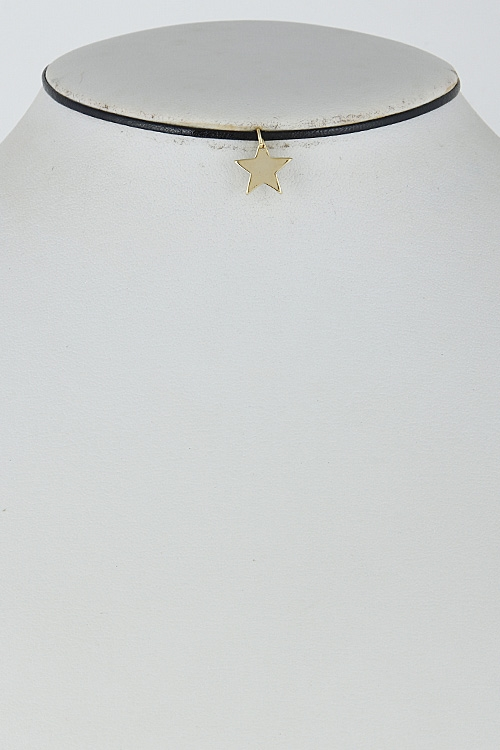 Simple Thin Star Choker - orangeshine.com