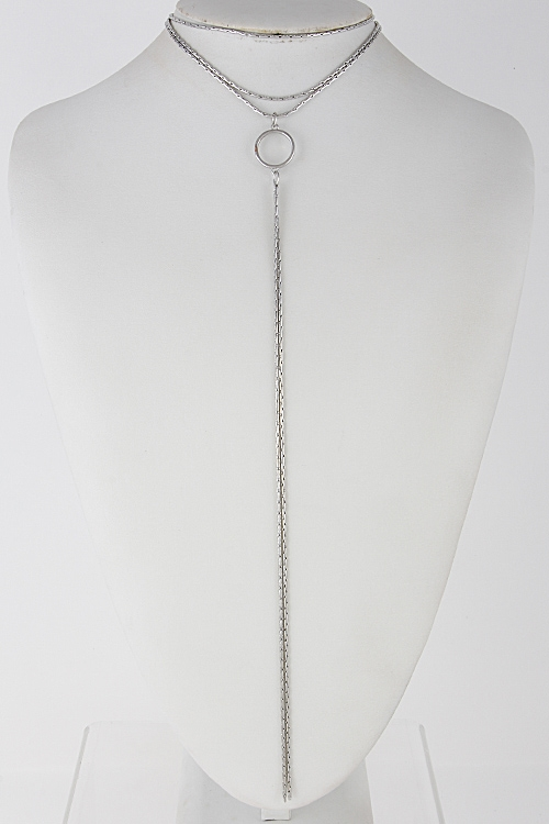 Formal Long Chain Choker - orangeshine.com