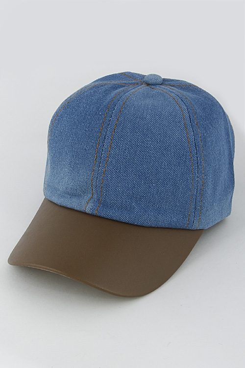 Denim Inspired Cap - orangeshine.com