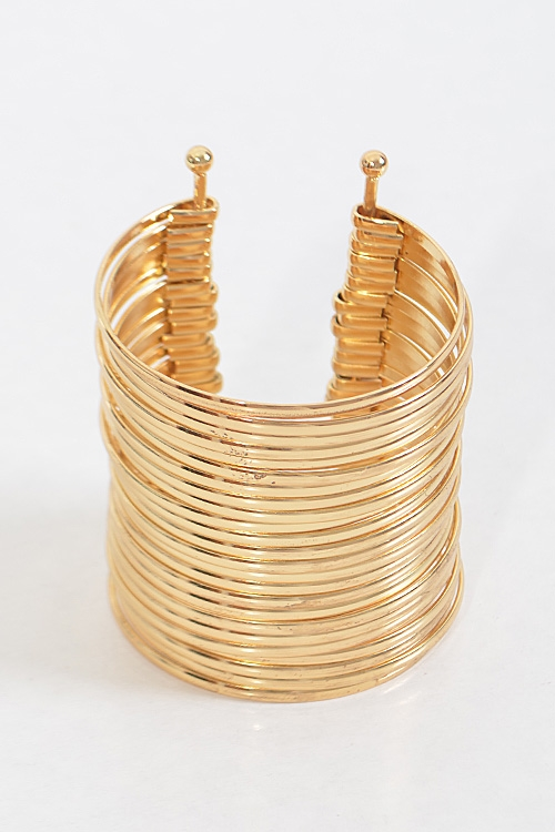 Bangle Inspired Cuff Bracelet - orangeshine.com