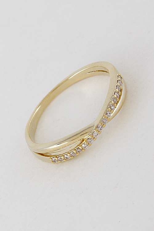 Formal Rhinestone Ring - orangeshine.com