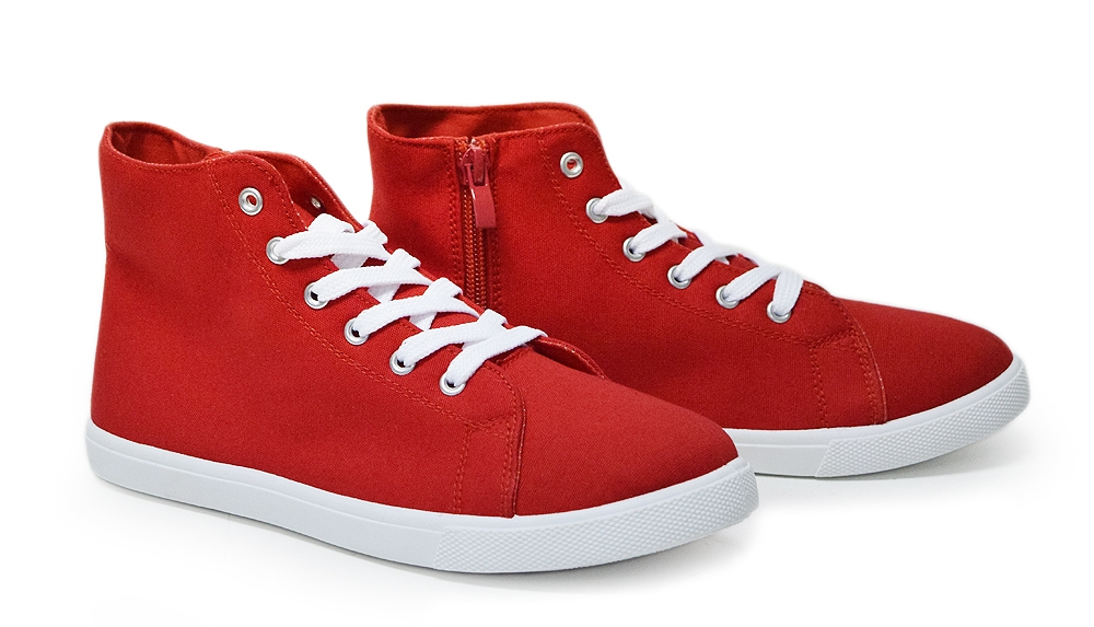 CoCo sneakers Red C - orangeshine.com