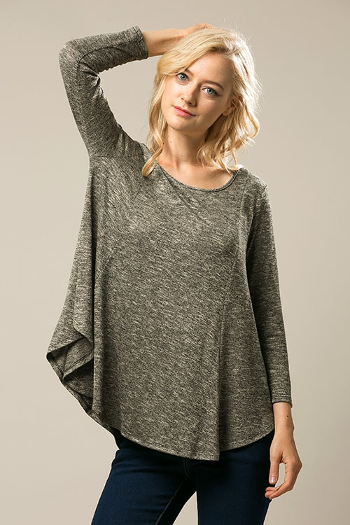 knit tunic - orangeshine.com