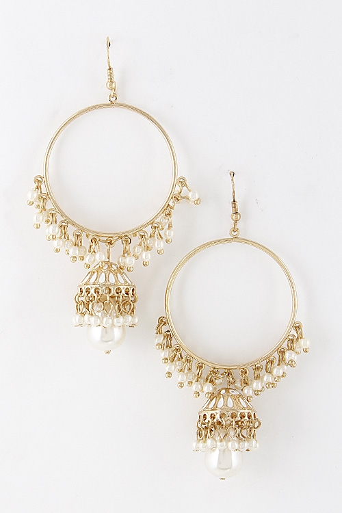 Elegant Hook Earrings - orangeshine.com