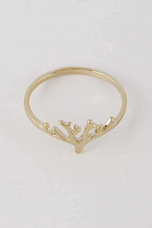 Tree Branch Thin Ring - orangeshine.com