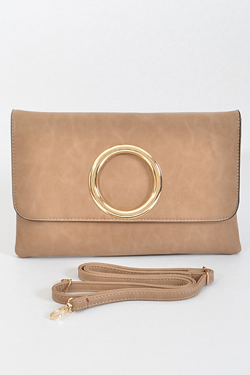 Simple Solid Clutch - orangeshine.com