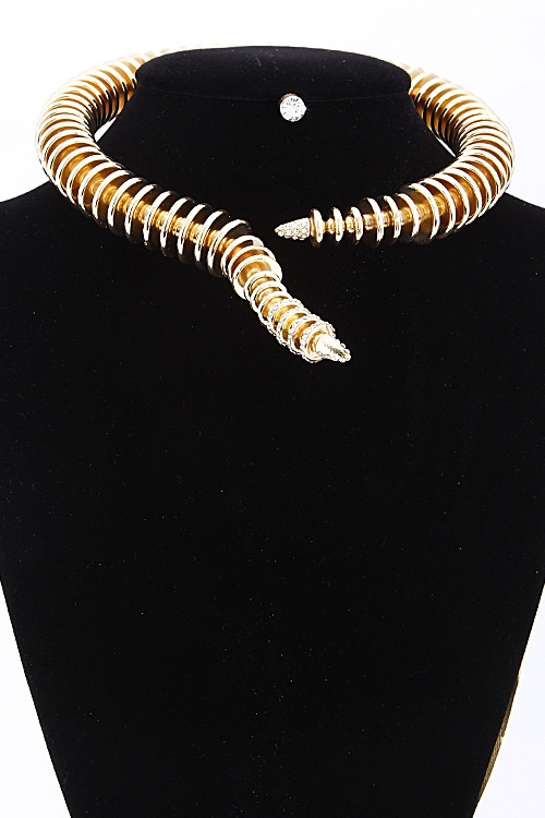 Wrap Around Necklace Set - orangeshine.com