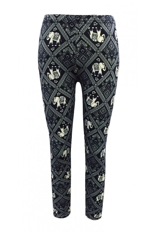Big Kids Print Leggings Animal - orangeshine.com