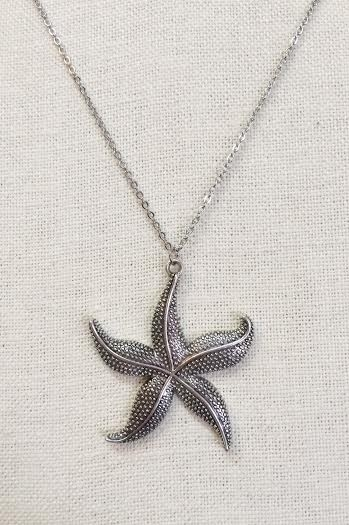 Starfish necklace 18inch - orangeshine.com