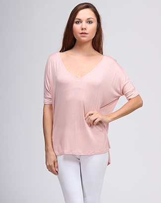 ROUND NECK SOLID TOP - orangeshine.com