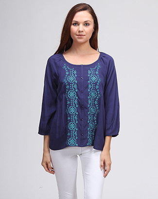 TRIBAL BLOUSE - orangeshine.com