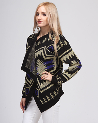 PRINT SWEATER - orangeshine.com