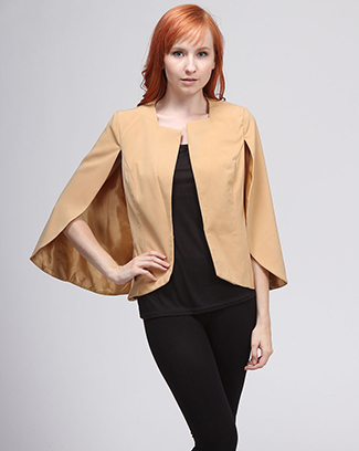 CAPE JACKET - orangeshine.com
