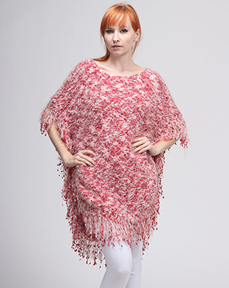 SWEATER LONG PONCHO - orangeshine.com